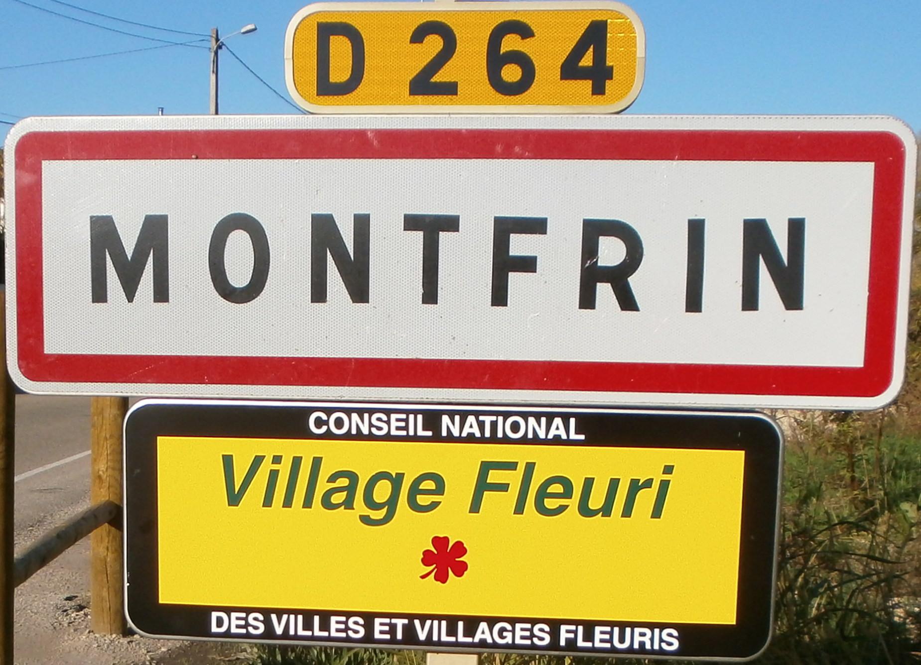 Montfrin ville fleurie